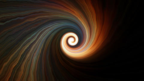Colorful spiral motions Animation