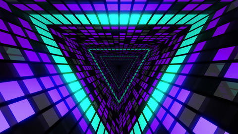VJ Loops Colorful Tunnels 0