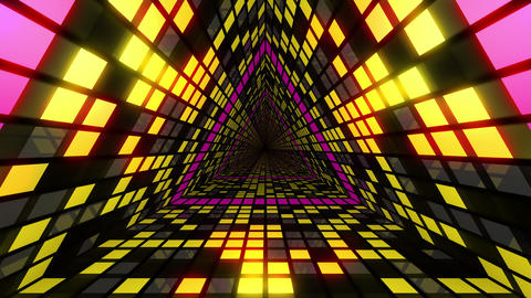 VJ Loops Colorful Tunnels 2