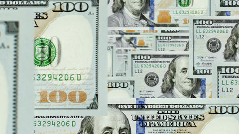 Dollar Fly Loop stock footage
