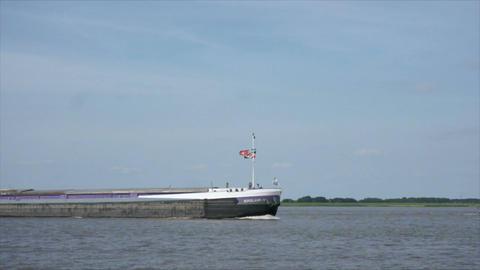 Elbe 07 stock footage