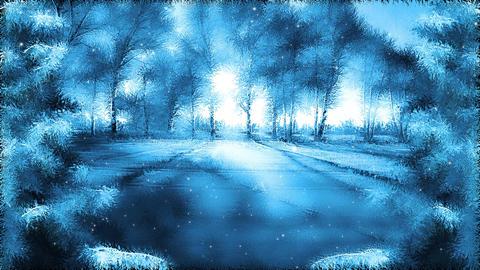 Winter dream land Animation