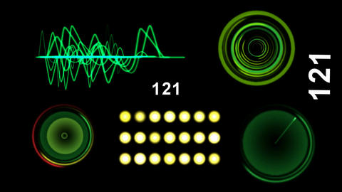 oscilloscope and radar system Animation