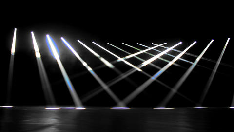 Light. Stage. Lines stock footage
