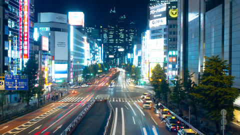street (of stores and houses), hustle and bustle, nishi-shinjuku Footage