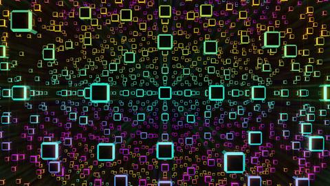 VJ Loops Rotating Cubes 0