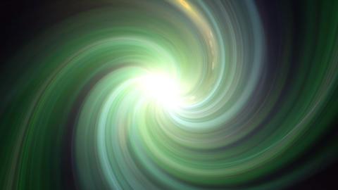 twirl green flare Animation