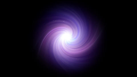 twirl of lens purple flare isolate Animation