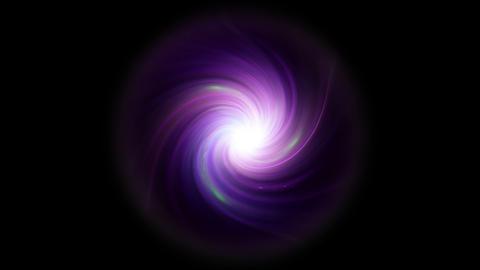 twirl of lens purple flare mix isolate Animation