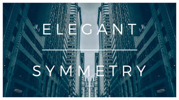 Elegant Symmetry After Effects Template