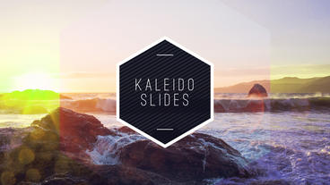 Kaleido Slides After Effects Project
