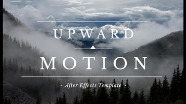 Upward Motion After Effects Template