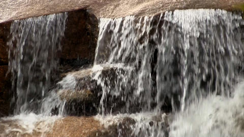 Flowing River Waterfall 11 Footage