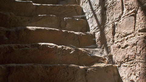 Ancient stairs Footage