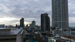 Day To Night, Bangkok stock footage