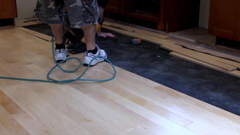 Floor nailing Footage