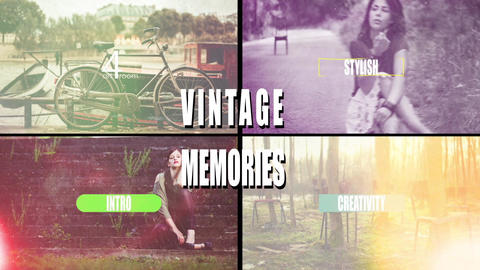 Vintage Memories After Effects Template