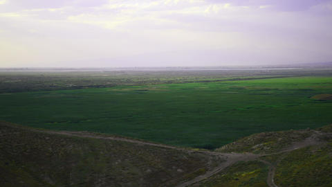 Vast Countryside Landscape stock footage