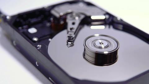 The Device Hard Drive Inside stock footage