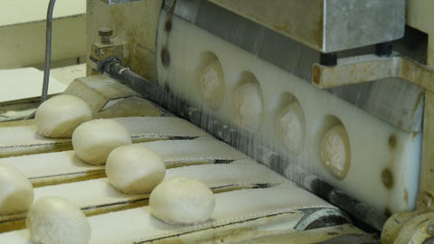 german bakery roll bun machine 11666 Footage