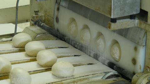 German Bakery Roll Bun Machine 4k 11666 stock footage