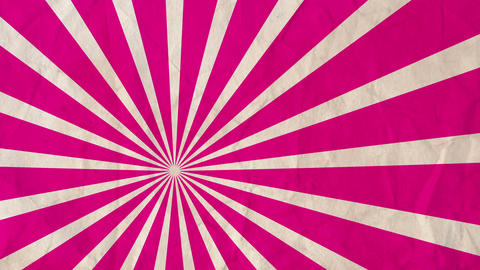 Background rotating rays Magenta Red Animation