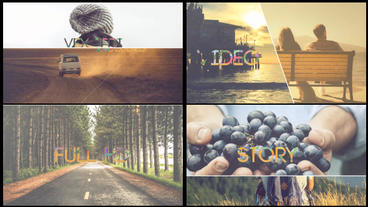 Modern Story Slideshow ( After Effects CS5.5 or above) After Effects Template