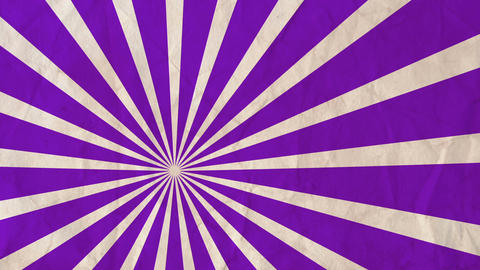 Background rotating rays Purple Animation