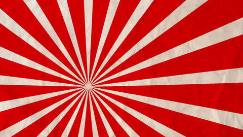 Background rotating rays Red Animation