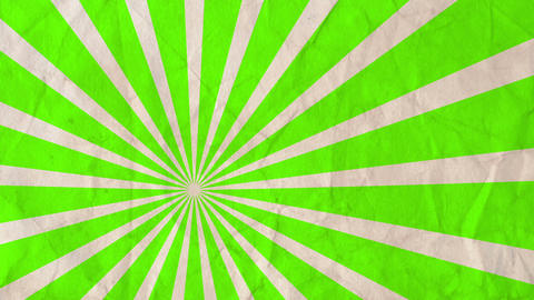 Background rotating rays Lime green Animation