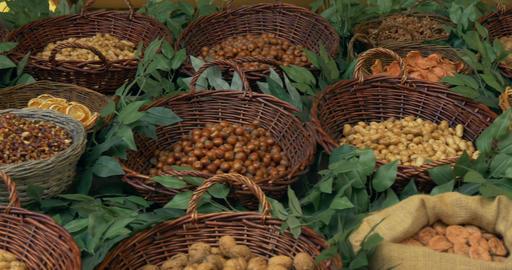 nut fruit 02 Footage