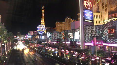 Las Vegas Strip Time Lapse Footage