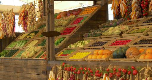 vegetables market 02 Footage