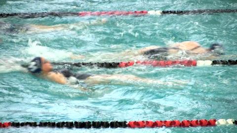 Girls swim team 9 Footage