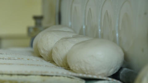 German Bakery Roll Bun Machine Close 4k 11672 stock footage