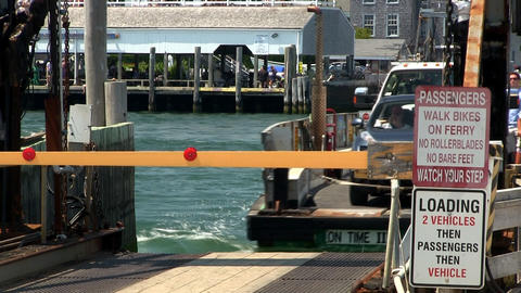 Chappaquiddick ferry makes crossing Footage