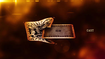 Poker card war : Ace Of Spades Epic Action Cinema Opening Thriller Title After Effects Project