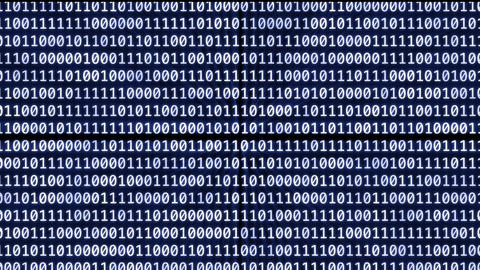 Loopable: Binary Digits stock footage