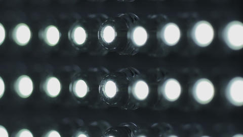 1080p Ungraded: Turning on and Off LED Panel Footage