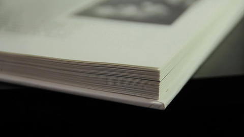 1080p Ungraded: Fast Flipping Book Pages Footage