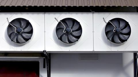 1080p Ventilation Fans Footage