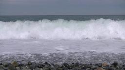 Sea Of Japan stock footage