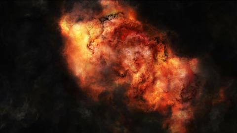 Heavy Explosions Animation