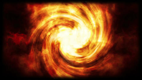 Abstract fire vortex loop Animation