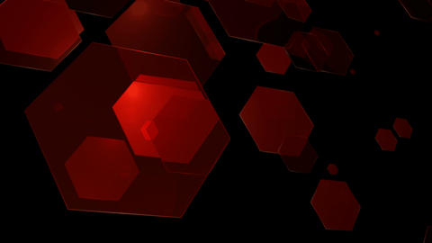 20 HD Abstract Random Hexagons #01 0