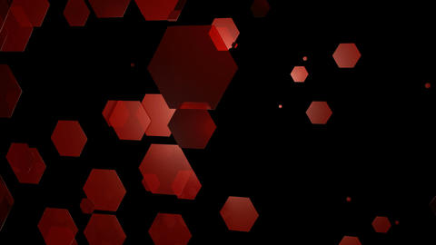 20 HD Abstract Random Hexagons #01 2