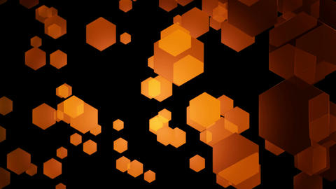 orange hexa movement Animation