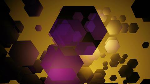 retro hexa motion Animation