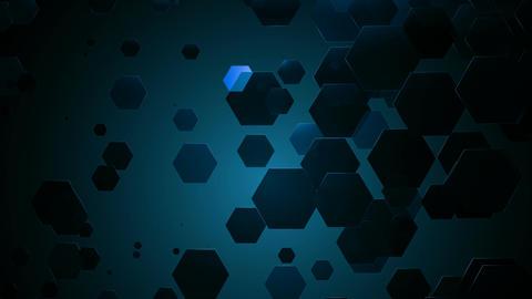 blue hexa dance Animation