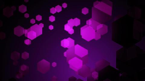 purple hexa movement Animation